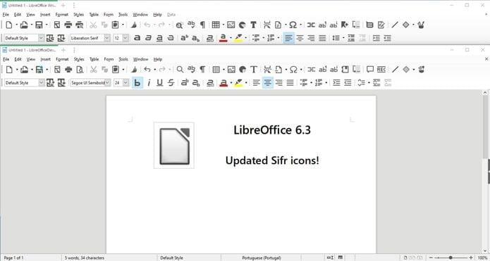 LibreOffice 6.3 lançado oficialmente - Confira as novidades e instale