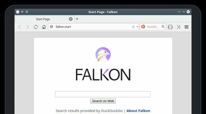 Como instalar o navegador Falkon no Linux via Snap