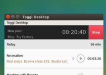Como instalar o rastreador de tempo Toggl Desktop no Linux via Flatpak
