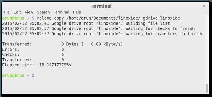Rclone 1.49 lançado – Confira as novidades e veja com instalar
