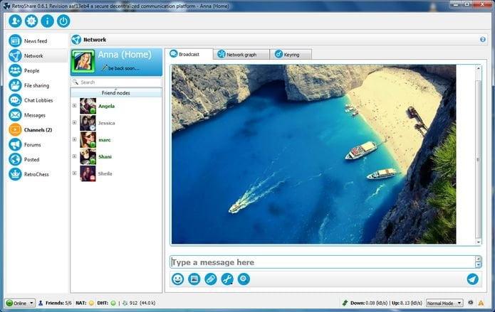 Como instalar o utilitário RetroShare no Linux via Flatpak