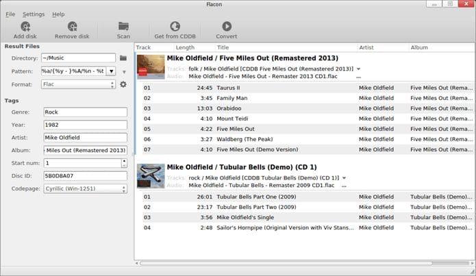 Como instalar o ripador de áudio Flacon no Linux via Snap