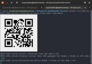 Como instalar o servidor Joy2DroidX no Linux via AppImage