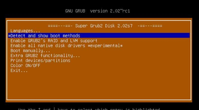 Super Grub2 Disk 2.04s1 lançado - Confiras as novidades e baixe