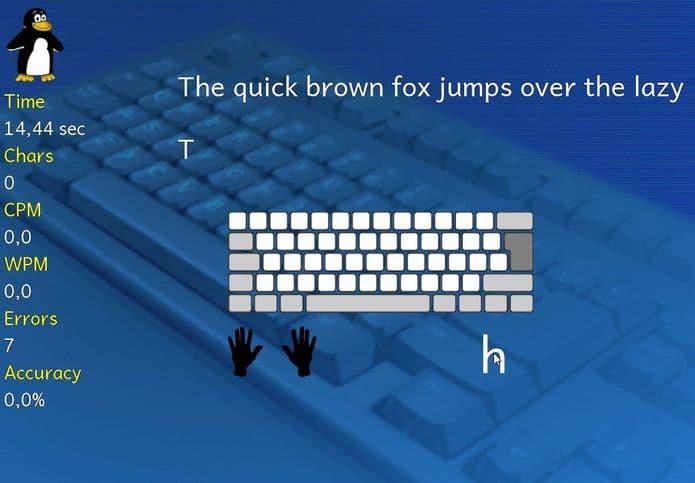 Como instalar o app de digitação Tux Typing no Linux via Flatpak