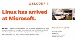 Microsoft anunciou uma conferência sobre Linux para março de 2020