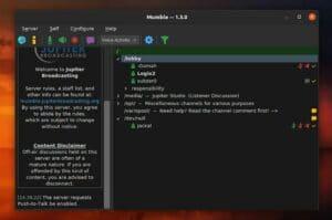 Como instalar o cliente VoIP Mumble no Linux via Flatpak