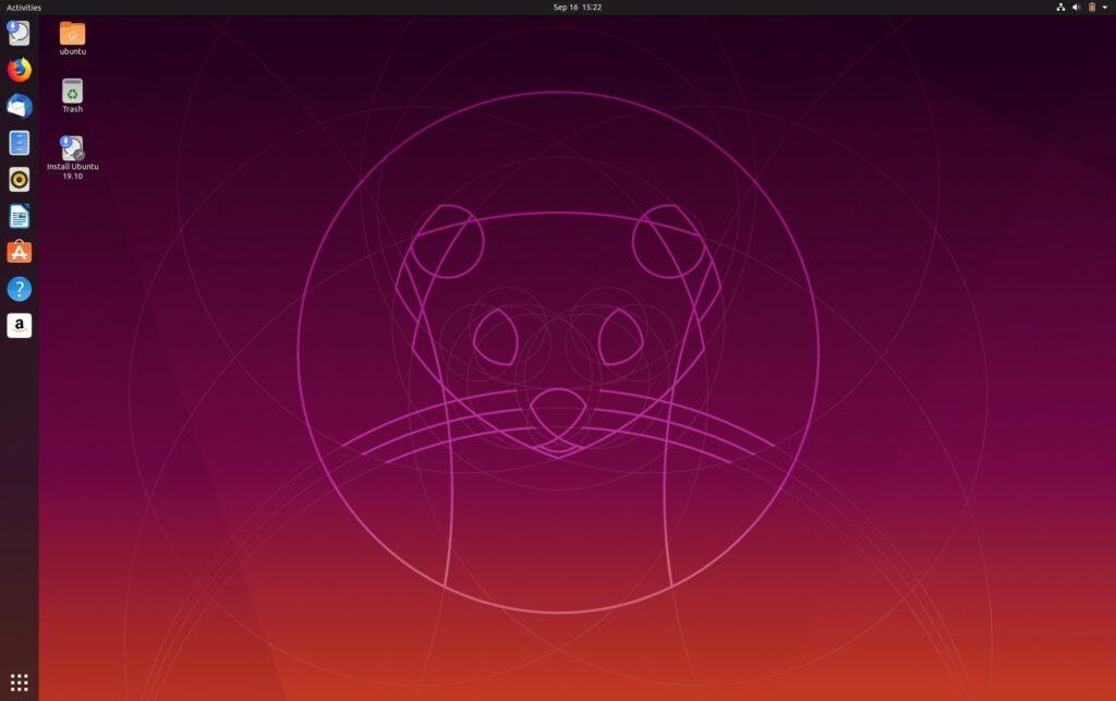 conheca os papeis de parede padrao do ubuntu 19 10 1 1024x643 - Kernel 5.3.1 lançado como a primeira versão de manutenção desta série