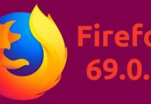 Firefox 69.0.1 lançado para corrigir uma vulnerabilidade