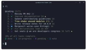 Como instalar o gerenciador de tarefas Taskline no Linux via Snap