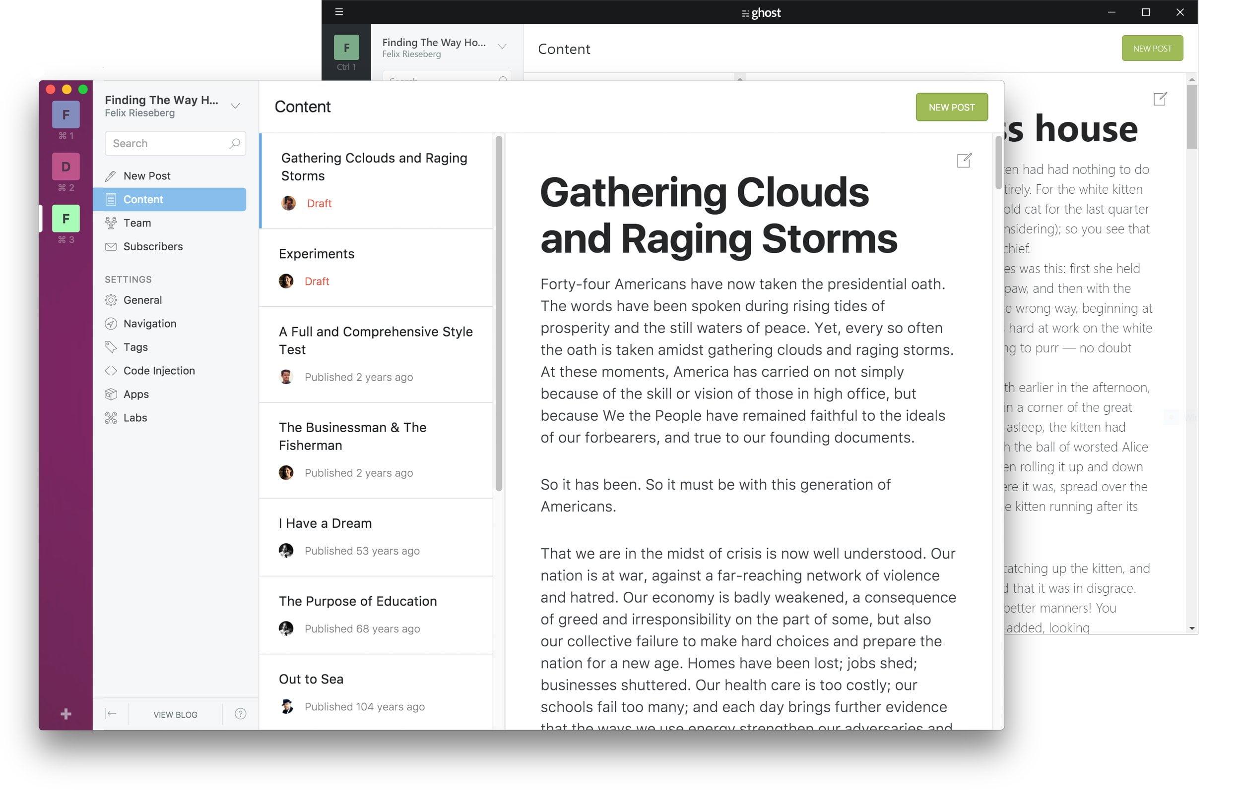 Como instalar o incrível Ghost Desktop no Linux via Snap