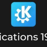 KDE Applications 19.08.1 lançado com várias correções de erros