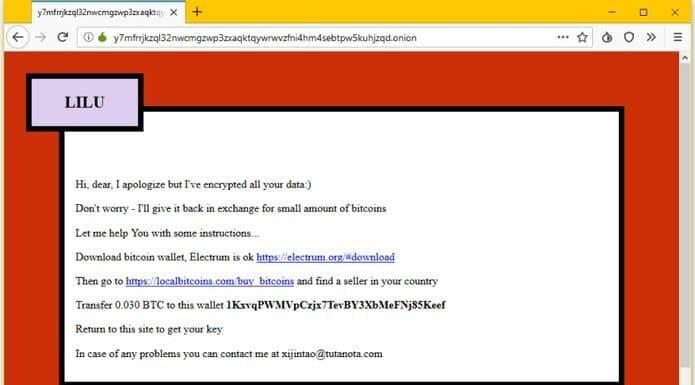 Ransomware Lilu já infectou milhares de servidores baseados em Linux