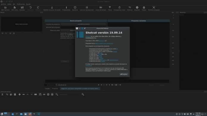 Shotcut 19.09 lançado com novos filtros e outras novidades interessantes