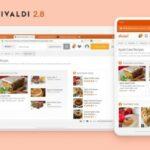 Vivaldi 2.8 lançado com suporte a sincronização de dados com o Android