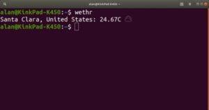 Como instalar o app de previsão de tempo Wethr no Linux