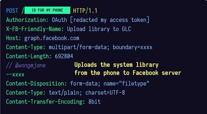 App do Facebook carrega bibliotecas do sistema sem permissão