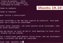 Como atualizar para o Ubuntu 19.10 via terminal (server e desktop)