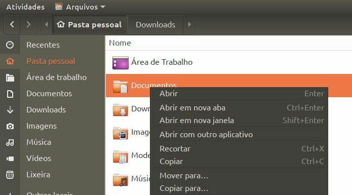Como ativar a opção 'Abrir como Administrador' no Ubuntu 19.10