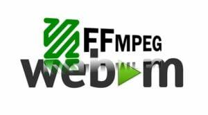 Como converter vídeos para o formato WEBM usando o ffmpeg