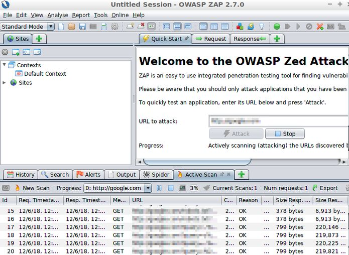 Como instalar a ferramenta de segurança ZAP no Linux via Snap