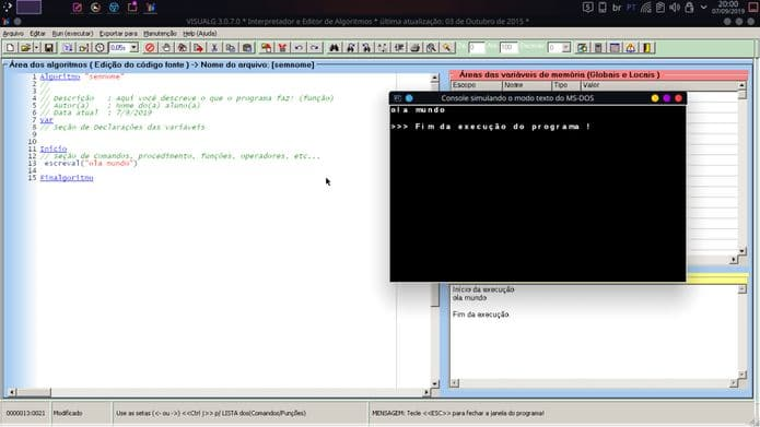 Como instalar a linguagem de programação VisualG no Linux via Snap