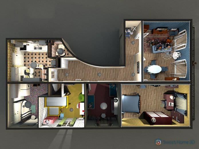 como instalar app de design interior sweet home 3d no linux via flatpak - Como instalar o media player Movian no Linux via Snap