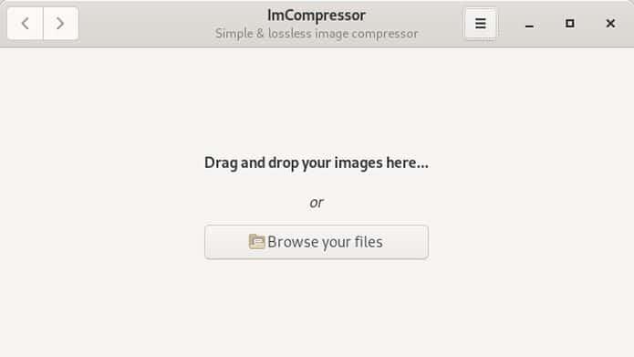 Como instalar o compressor de imagens ImCompressor no Linux