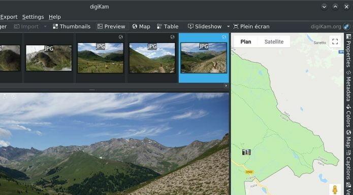 Como instalar o gerenciador de fotos digiKam no Linux via Snap