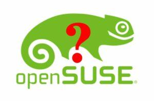 Comunidade openSUSE votará se deve ou não mudar de nome