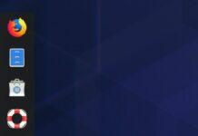 Dash to Dock v67 lançado com um ícone Lixeira no estilo Unity