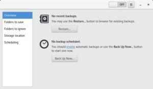 Como instalar o utilitário de backup Déjà Dup no Linux via Flatpak