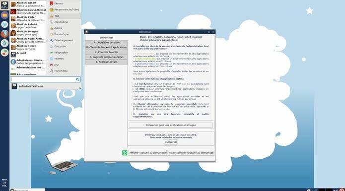 PrimTux 5 lançado - Confira as novidades e veja onde baixar
