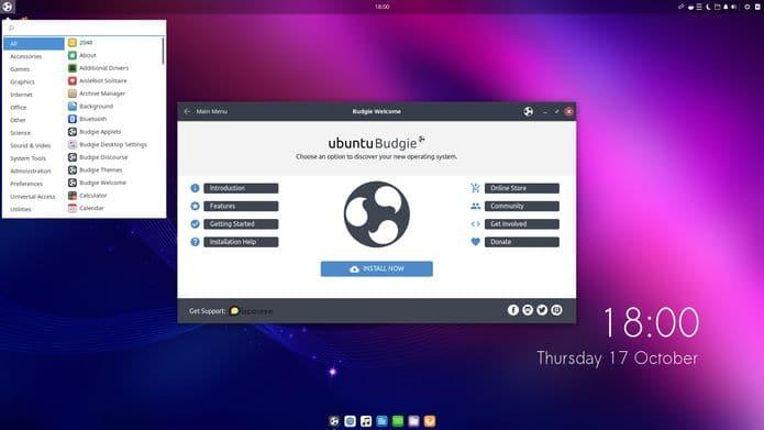 ubuntu budgie 19 10 lancado confira as novidades e baixe - Ubuntu Budgie 19.10 lançado - Confira as novidades e baixe