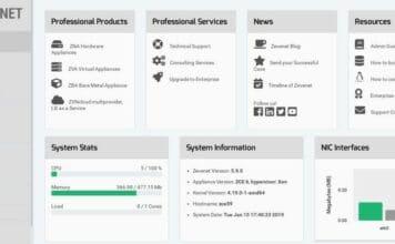Zevenet 5.10.1 Community lançado com um plug-in de idioma e mais
