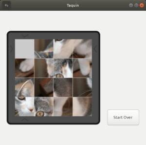 Como instalar o jogo GNOME Taquin no Linux via Snap