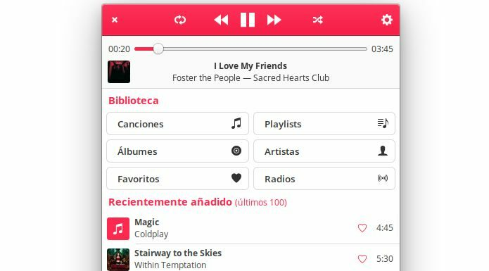 Como instalar o Music Player Byte no Linux via Flatpak