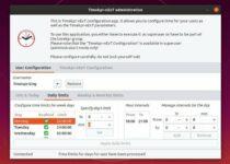 Como instalar o programa de controle parental Timekpr-nExT no Linux