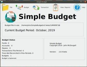Como instalar o app de orçamento Simple Budget no Linux via Snap