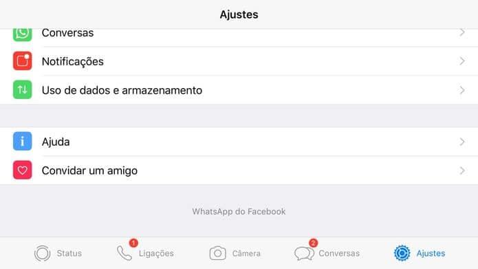 Facebook já está colocando seu nome no WhatsApp