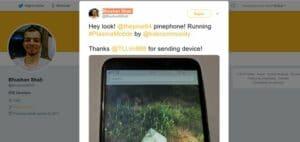 KDE Plasma Mobile rodando no PinePhone? Sim. Já é possível!
