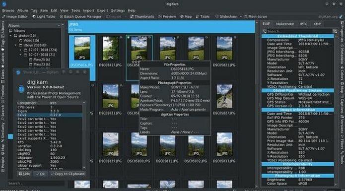 Lançado o digiKam 6.4, agora com ainda mais plugins