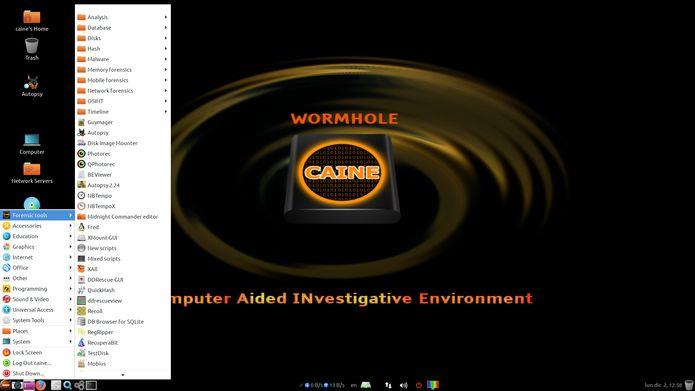 CAINE 11 lançado com uma ferramenta forense Btrfs e outras melhorias