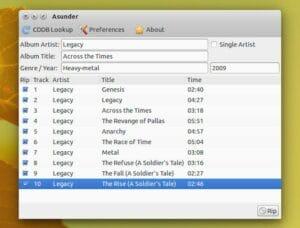 Como instalar o Asunder CD Ripper no Linux via Flatpak