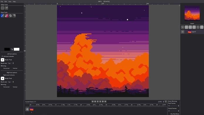 Como instalar o editor de sprite 2D Pixelorama no Linux via Flatpak
