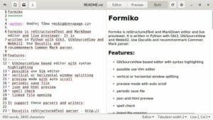 Como instalar o editor MarkDown Formiko no Linux via Flatpak