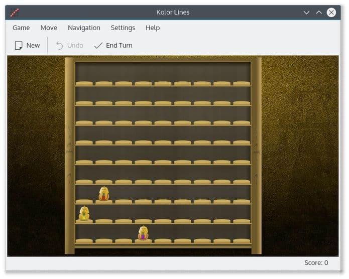 Como instalar o jogo tático Kolor Lines no Linux via Flatpak