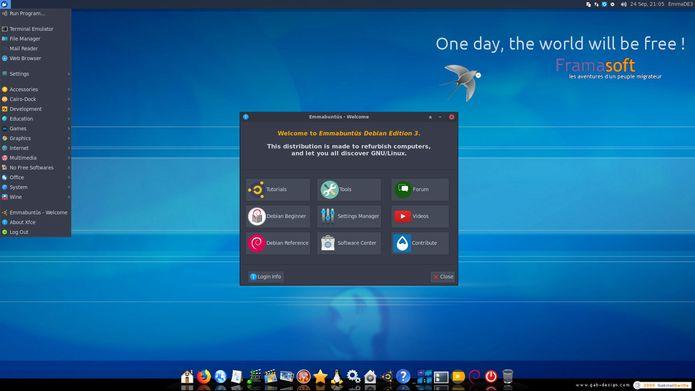 Emmabuntüs DE2-1.06 lançado - Confira as novidades e baixe