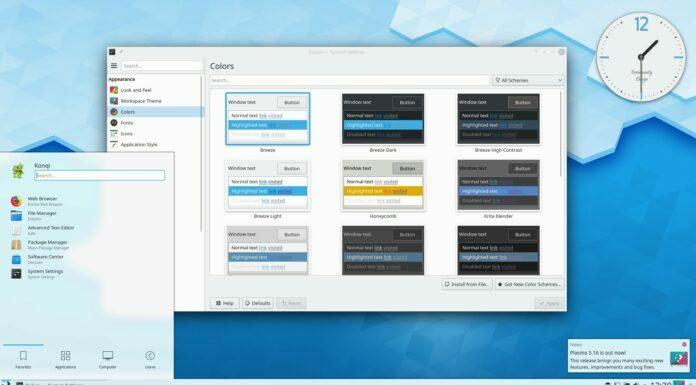 KDE Plasma 5.17.4 lançado com quase 50 correções
