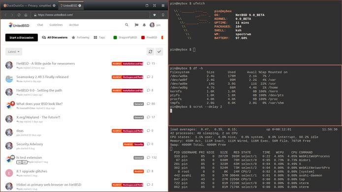 NetBSD 9.0 RC1 lançado com suporte a arm de 64 bits e outras melhorias